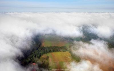 Lot nad chmurami…