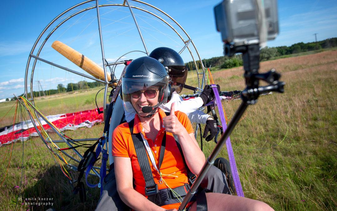 Filmy z Waszych lotów kręcimy z  trzech kamer jednocześnie!