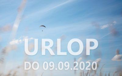 Przerwa urlopowa do 09.09.2020